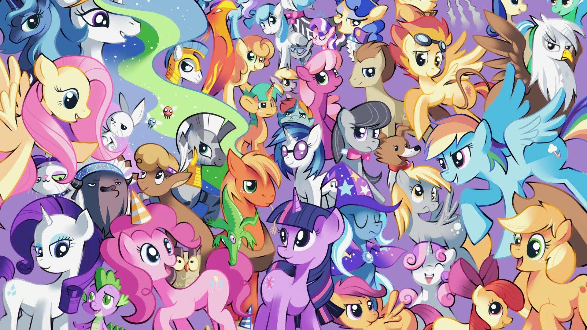 Mlp Background Ponies Wallpaper 82 Images