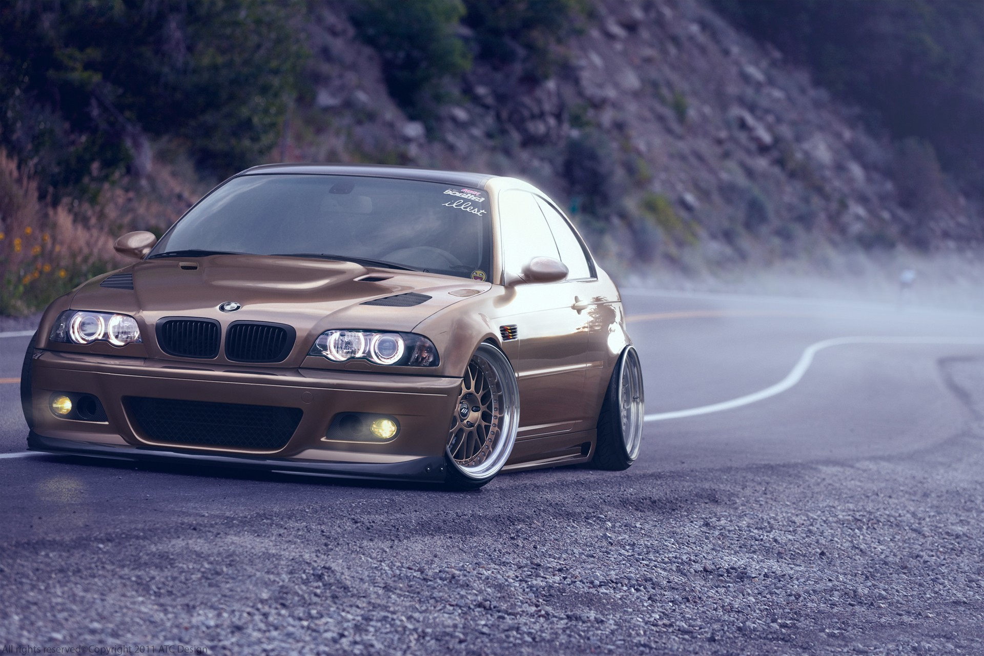 1920x1280 car, BMW, Mist, Road, BMW M3 E46, E46 Wallpapers HD / Desktop and Mobile  Backgrounds
