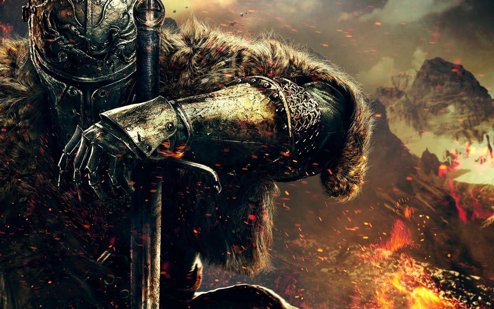 1920x1200 knights, Medieval, Video Games, Dark Souls II, Sword Wallpapers HD /  Desktop and Mobile Backgrounds