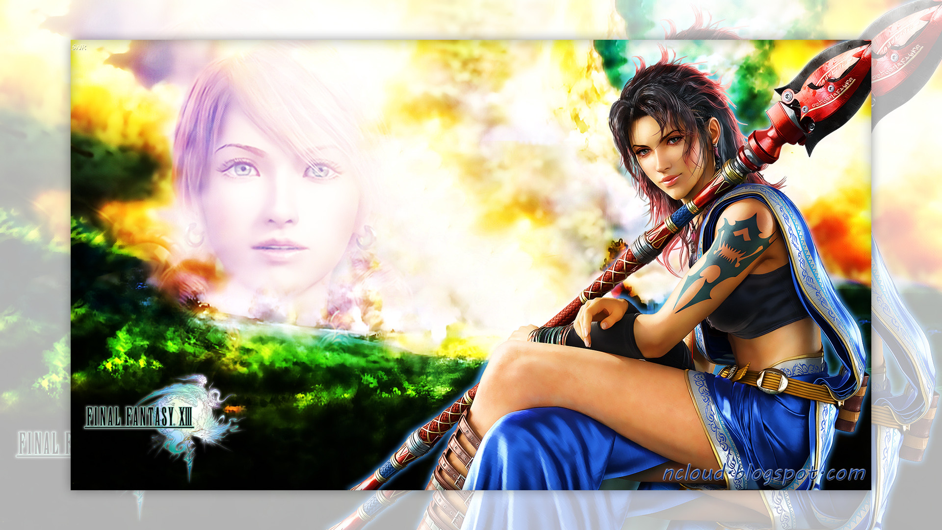 1920x1080 My Final Fantasy XIII Fang and Vanille Wallpaper