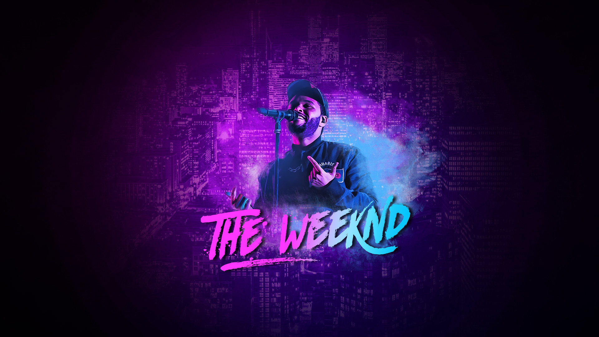 1920x1080 The Weeknd wallpaper by Vucko024 The Weeknd wallpaper by Vucko024