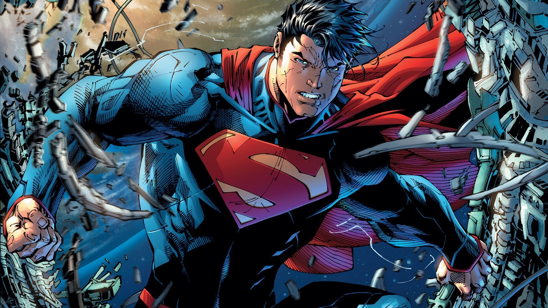 1920x1080 DC Comics Superman Man Of Steel The New 52 Superman Unchained wallpaper  background