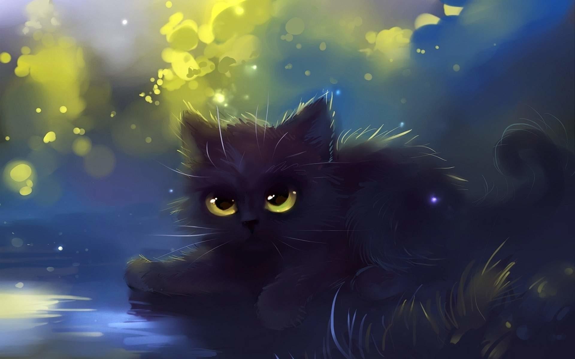 Black Cat Eyes Wallpaper (69+ images)