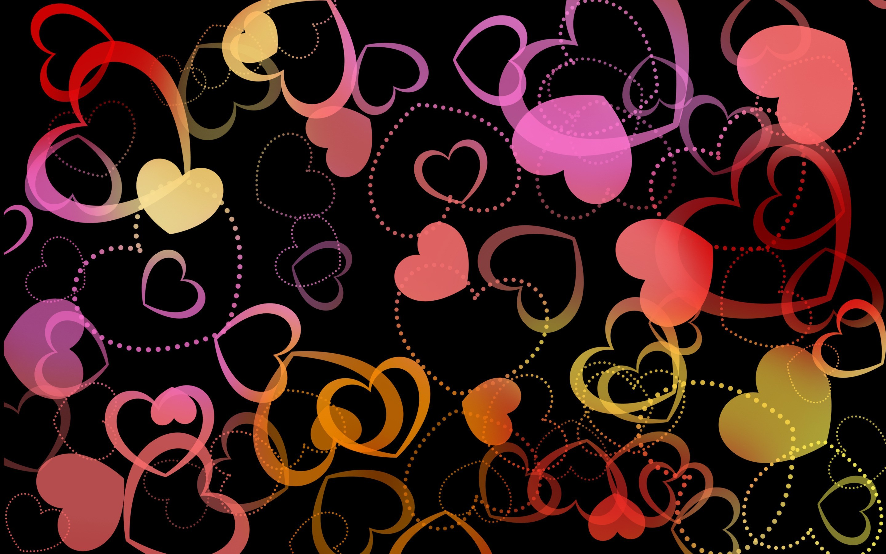 2880x1800 Hearts Wallpaper 12  768x480