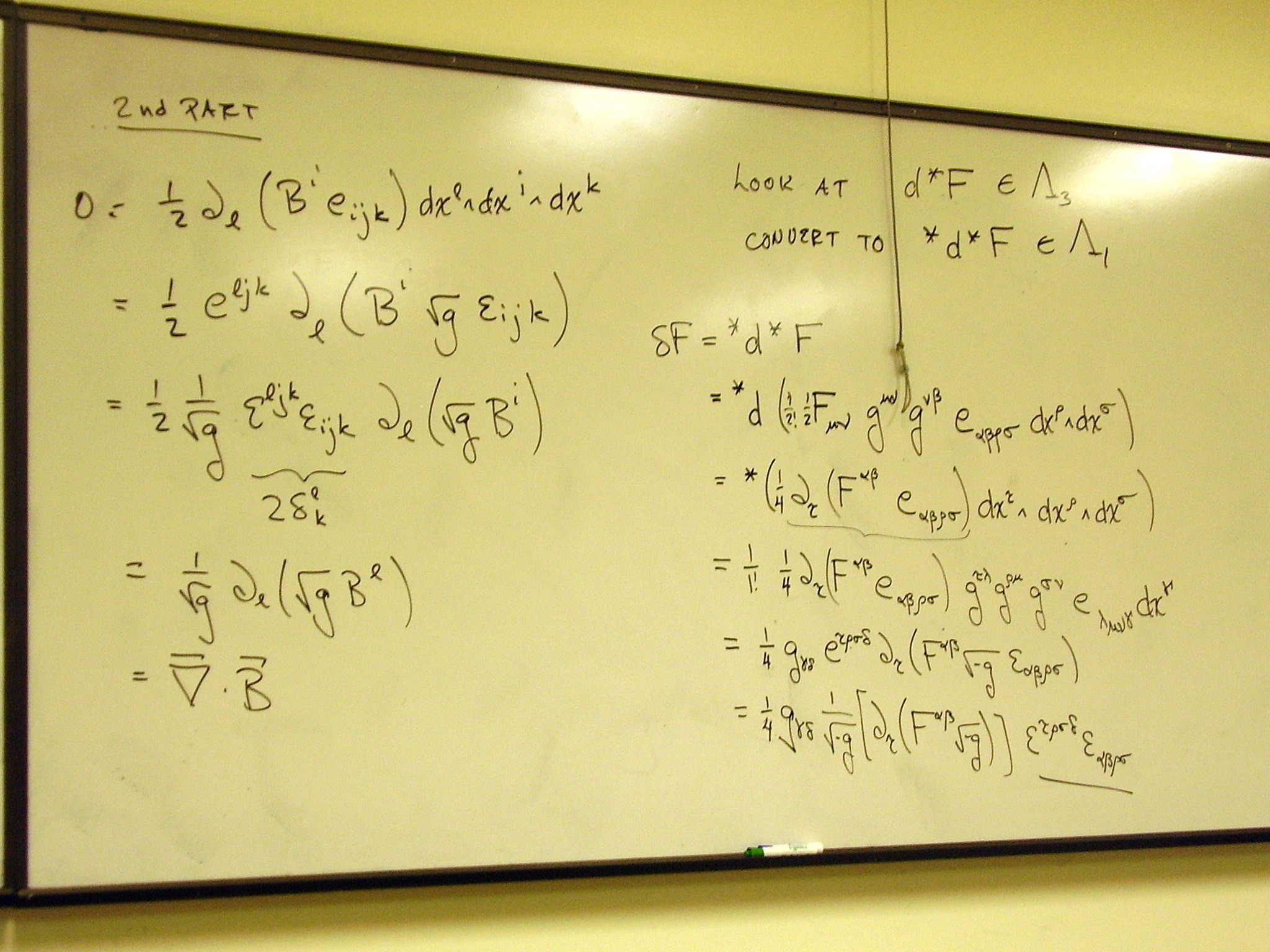 2048x1536 The inhomogeneous Maxwell equations result. January 12 Lecture, slide l