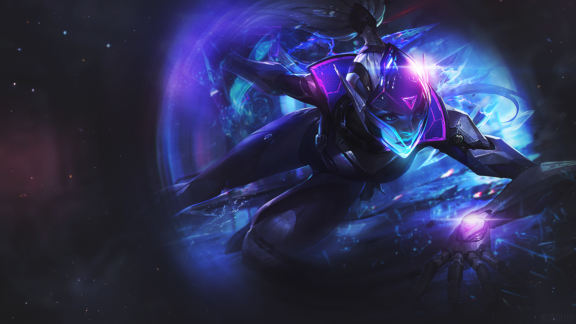 1920x1080 PROJECT Vayne by nukolily HD Wallpaper Background Fan Art Artwork League of Legends  lol