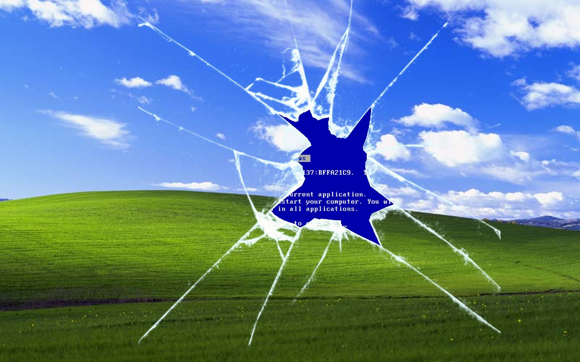 "1920x1200 ... src · Windows XP ""Bliss"" Desktop Background ..."