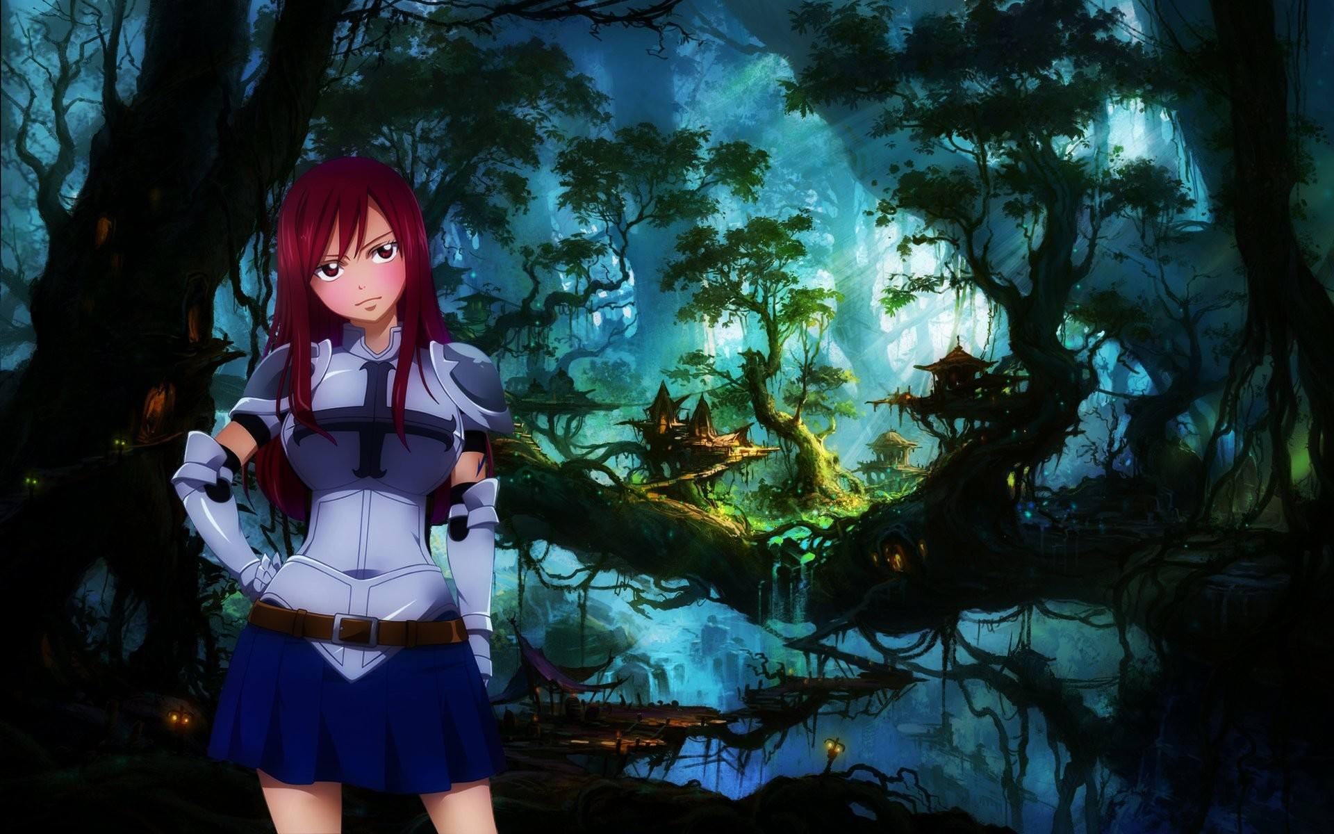 1920x1200 Erza Scarlet Armor Wallpaper For Iphone