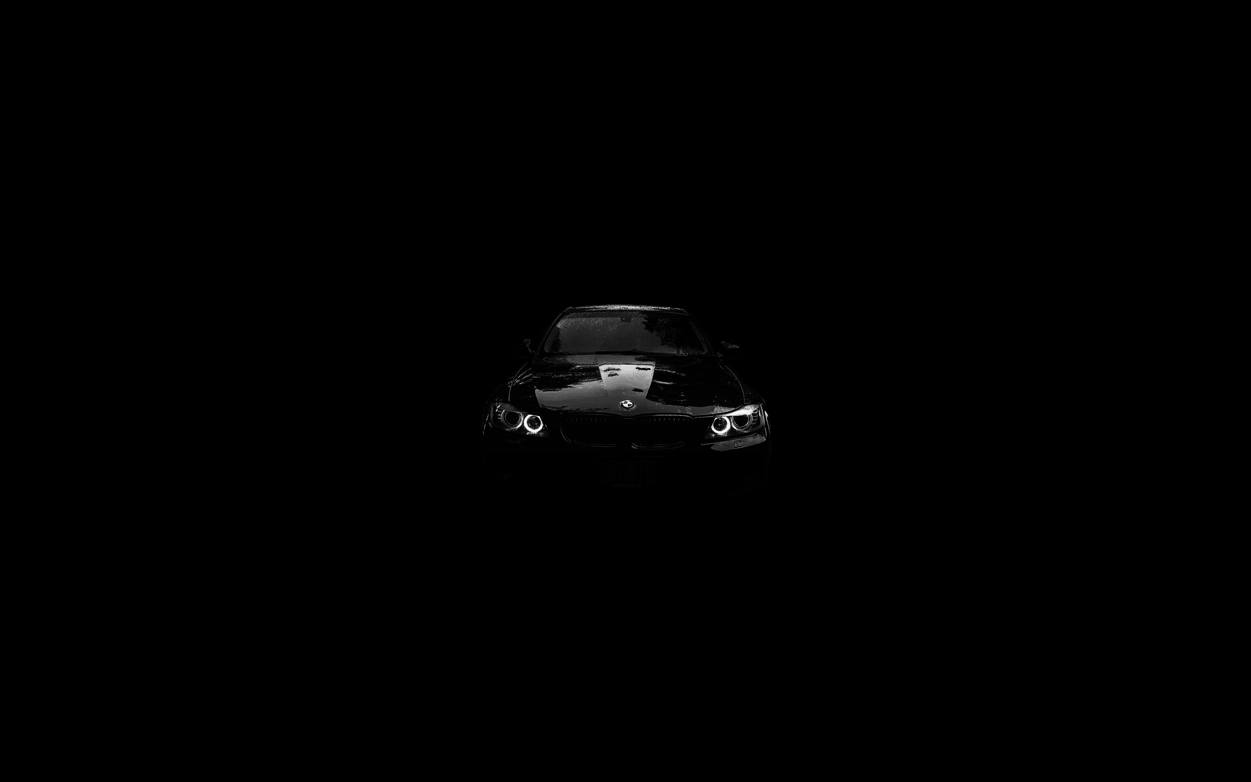 2560x1600 Bmw Black Background Is Cool Wallpapers