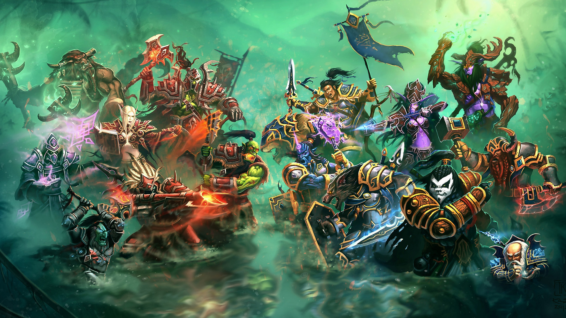 World Of Warcraft Backgrounds 1920x1080: Horde Wallpaper HD (68+ Images