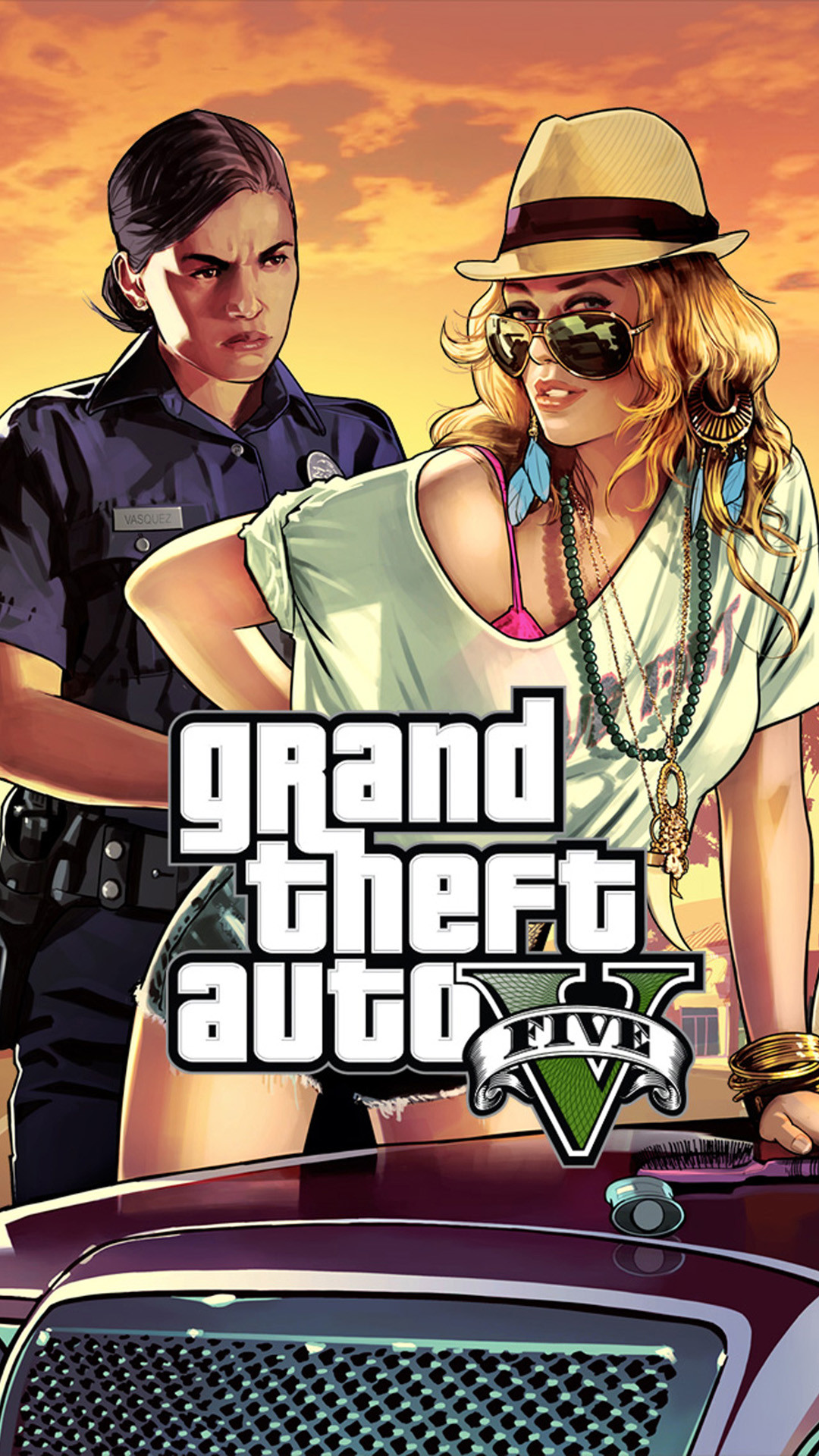 1080x1920 IPhone 6 Plus GTA 5 HD Wallpaper