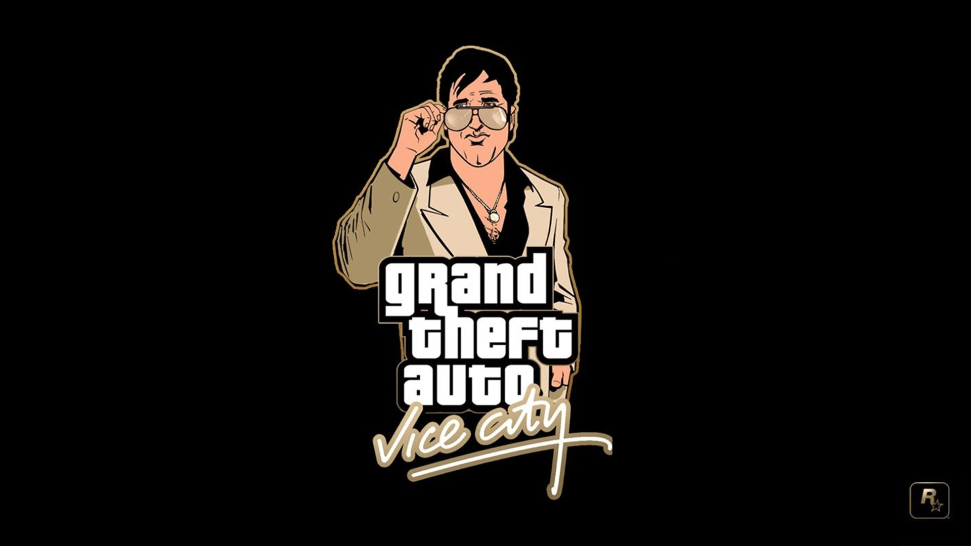 1920x1080 Grand Theft Auto Vice City, Rockstar Games, PlayStation 2, Video Games