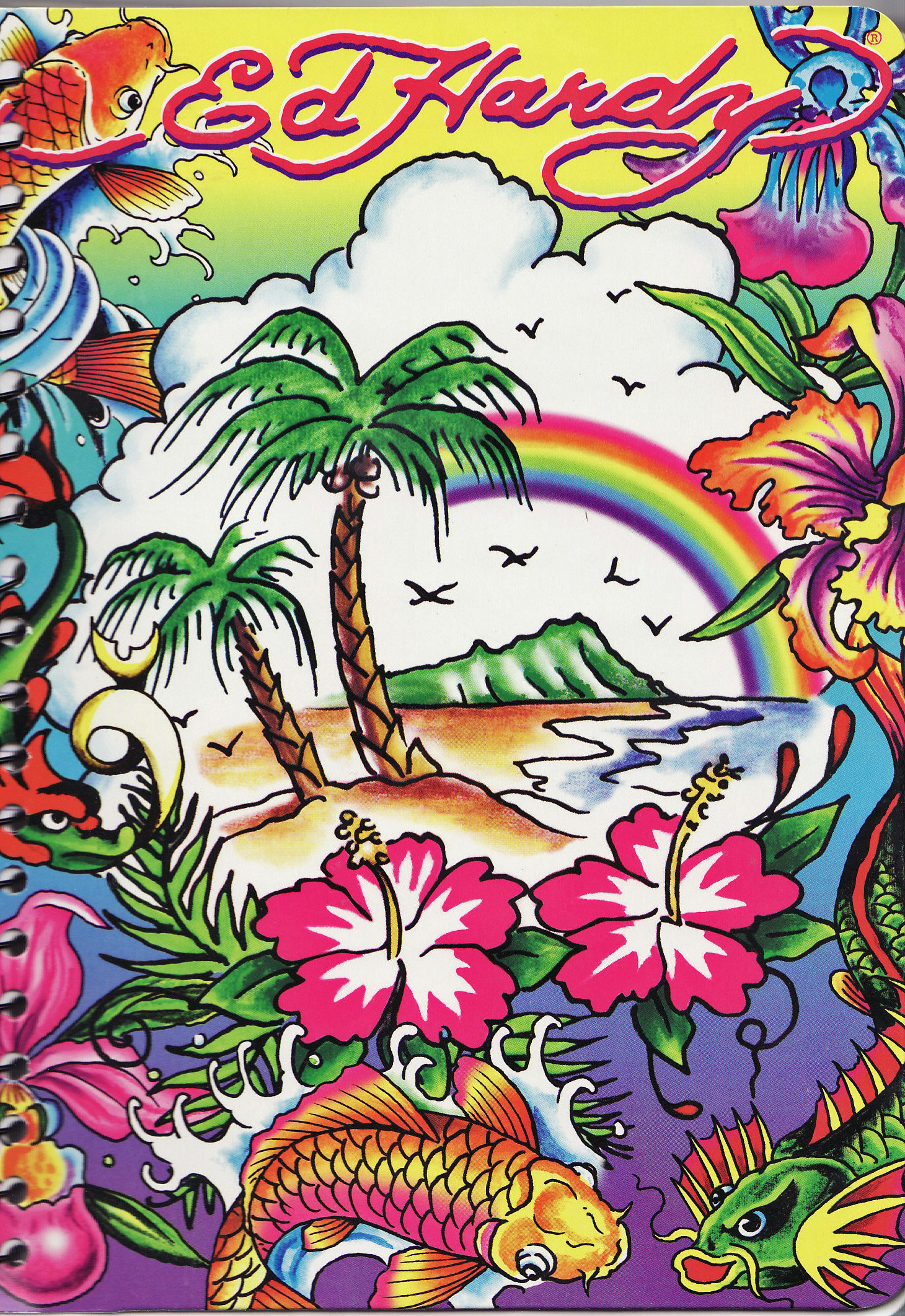 Ed hardy backgrounds 55 images - Ed hardy lisa frank ...
