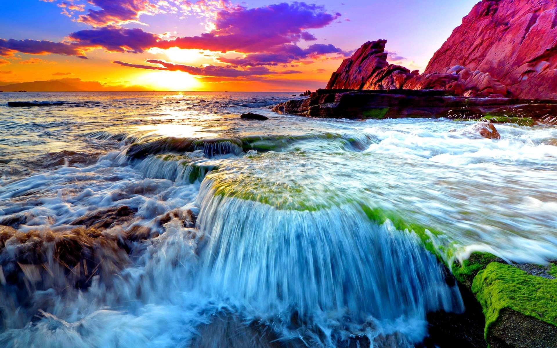 1920x1200 Pix For > Ocean Scenes Wallpaper