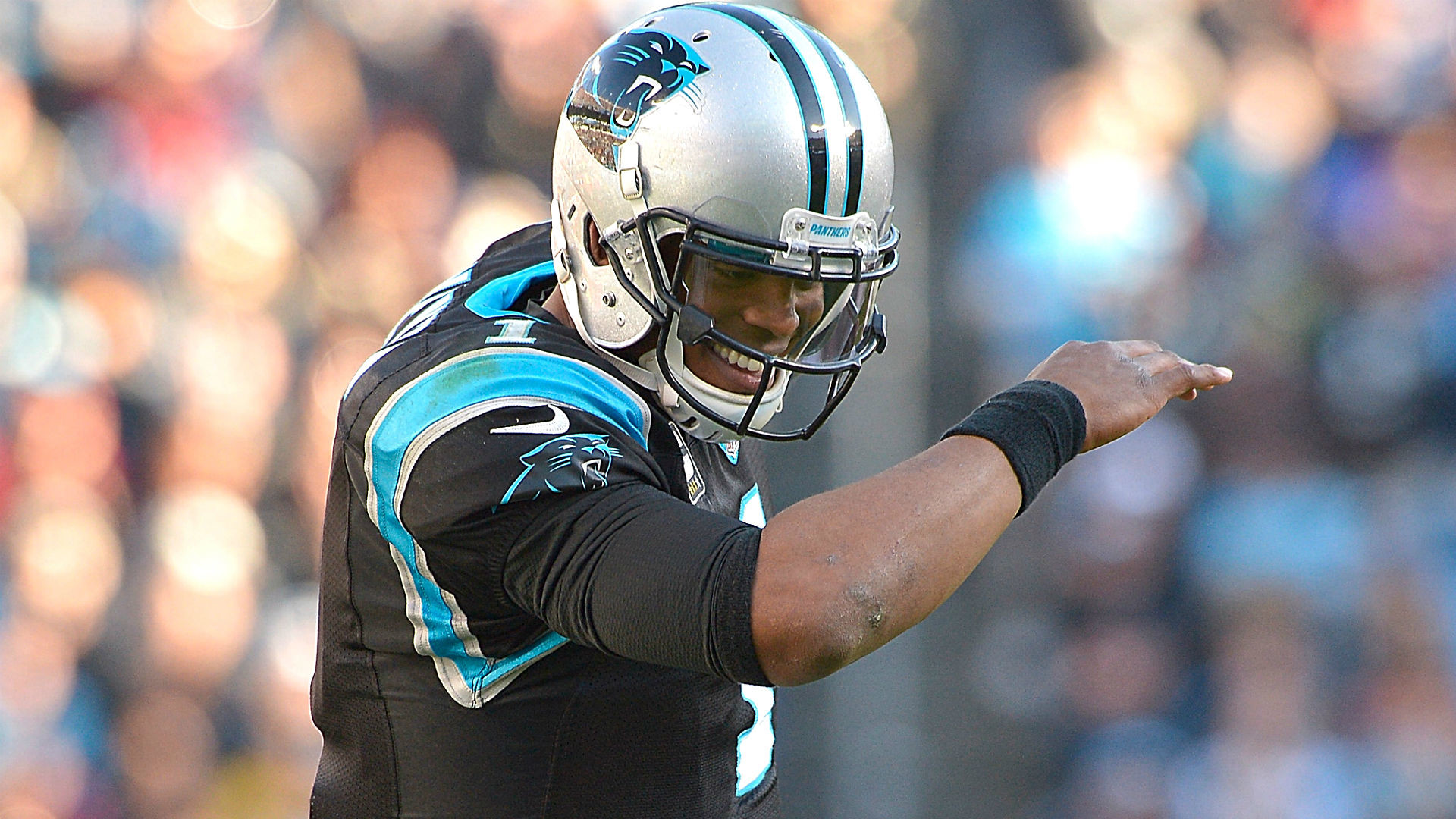 1920x1080 Likely NFL MVP Cam Newton has dabbed his way to the Super Bowl. photo: