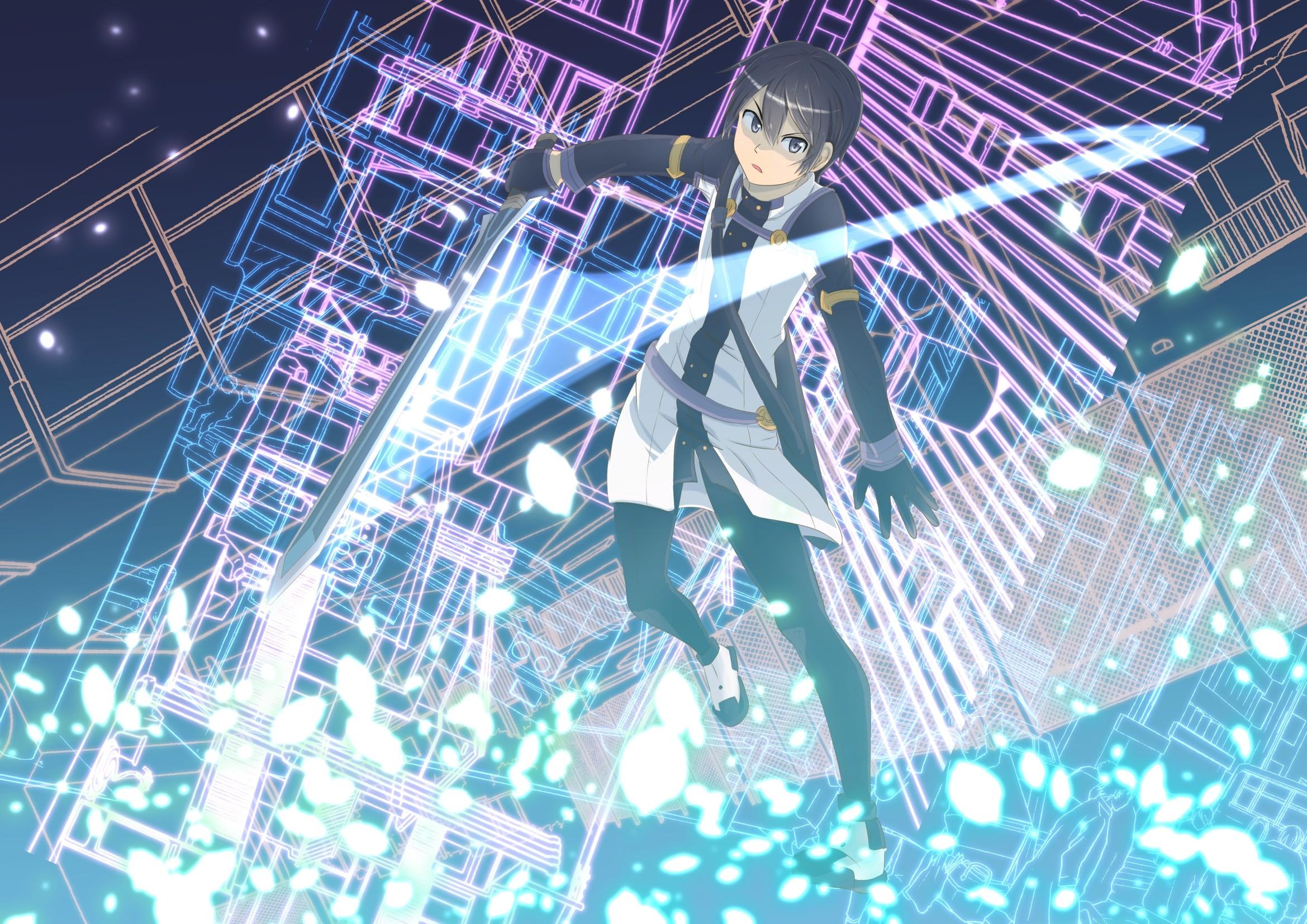 3840x1080 Sword Art Online Yuuki Asuna Anime Kirigaya Kazuto Multiple Display Wallpapers HD Desktop And Mobile Backgrounds
