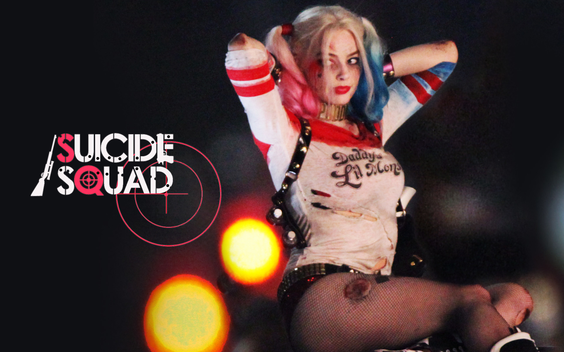 1920x1200 Harley Quinn in David Ayer's Suicide Squad for DC comics/Warner Bros .