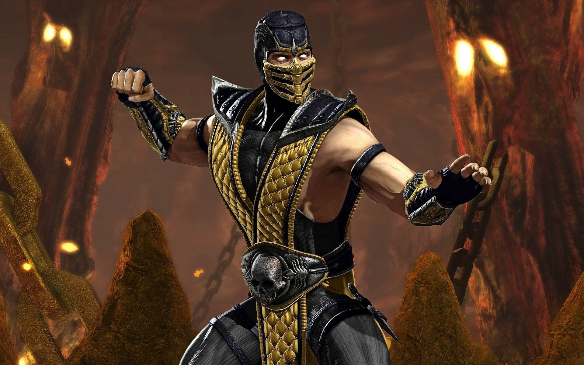 Mortal kombat 9 scorpion wallpaper 72 images - Mortal kombat scorpion wallpaper ...