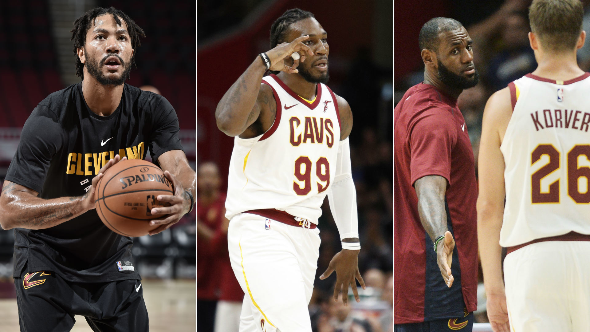 1920x1080 Cast of foes from LeBron James' past now run alongside him in Cleveland |  NBA.com