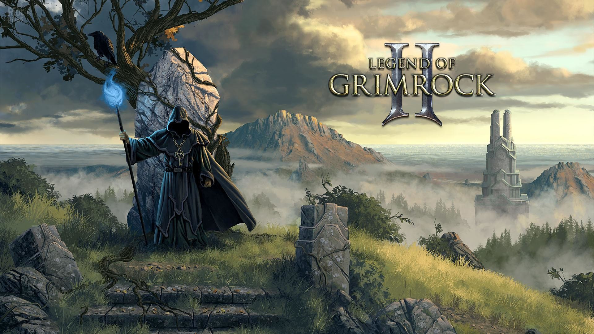 1920x1080 Legend of Grimrock II wizard