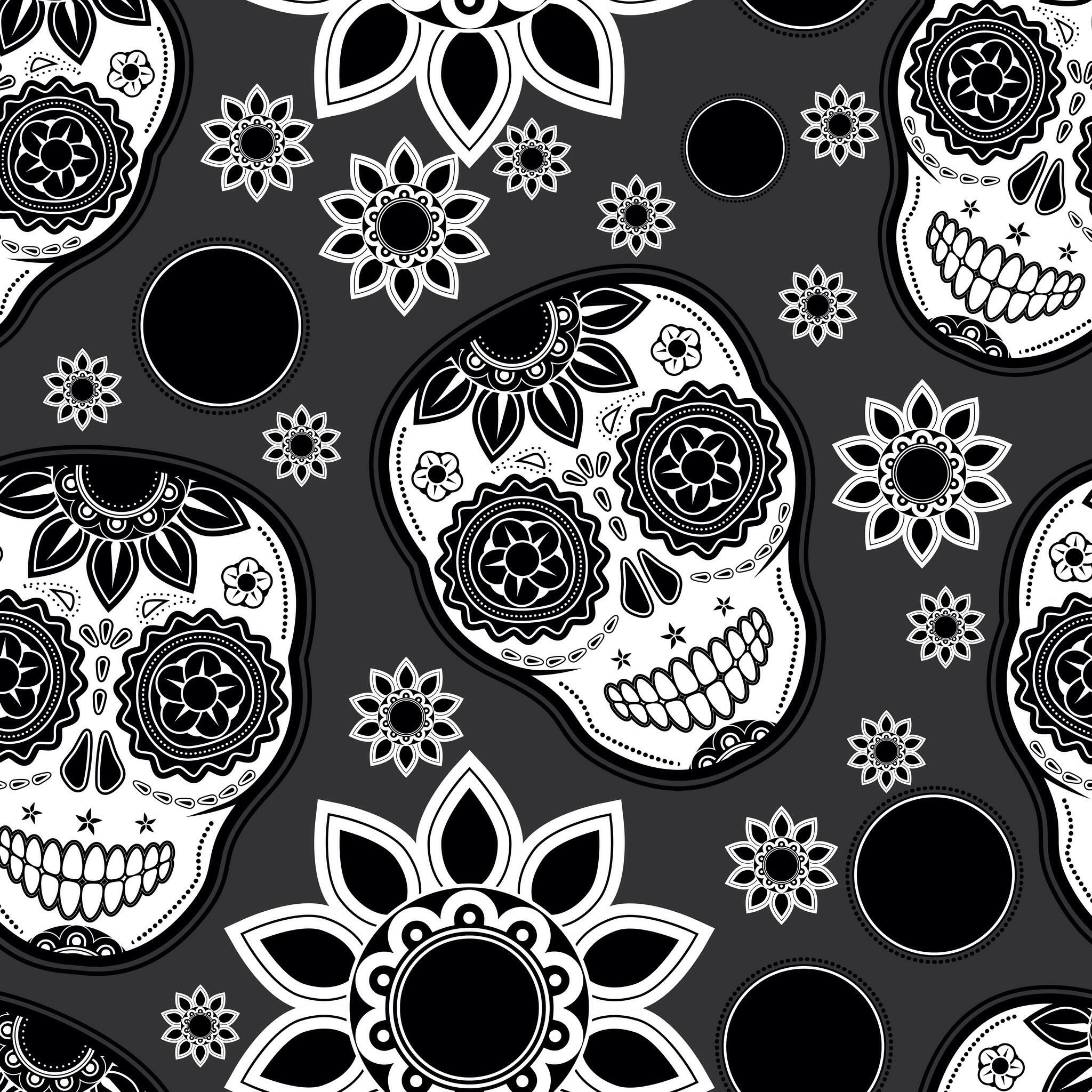 2048x2048 Explore Sugar Skull Wallpaper For And More