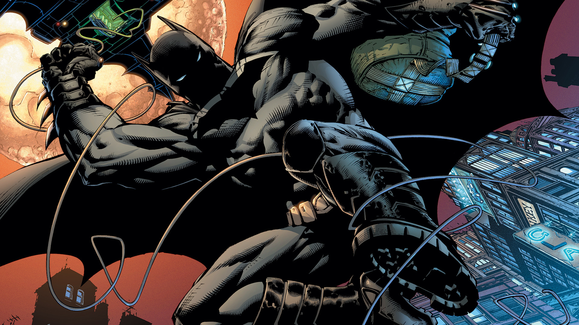 1920x1080 Batman Hush Photos