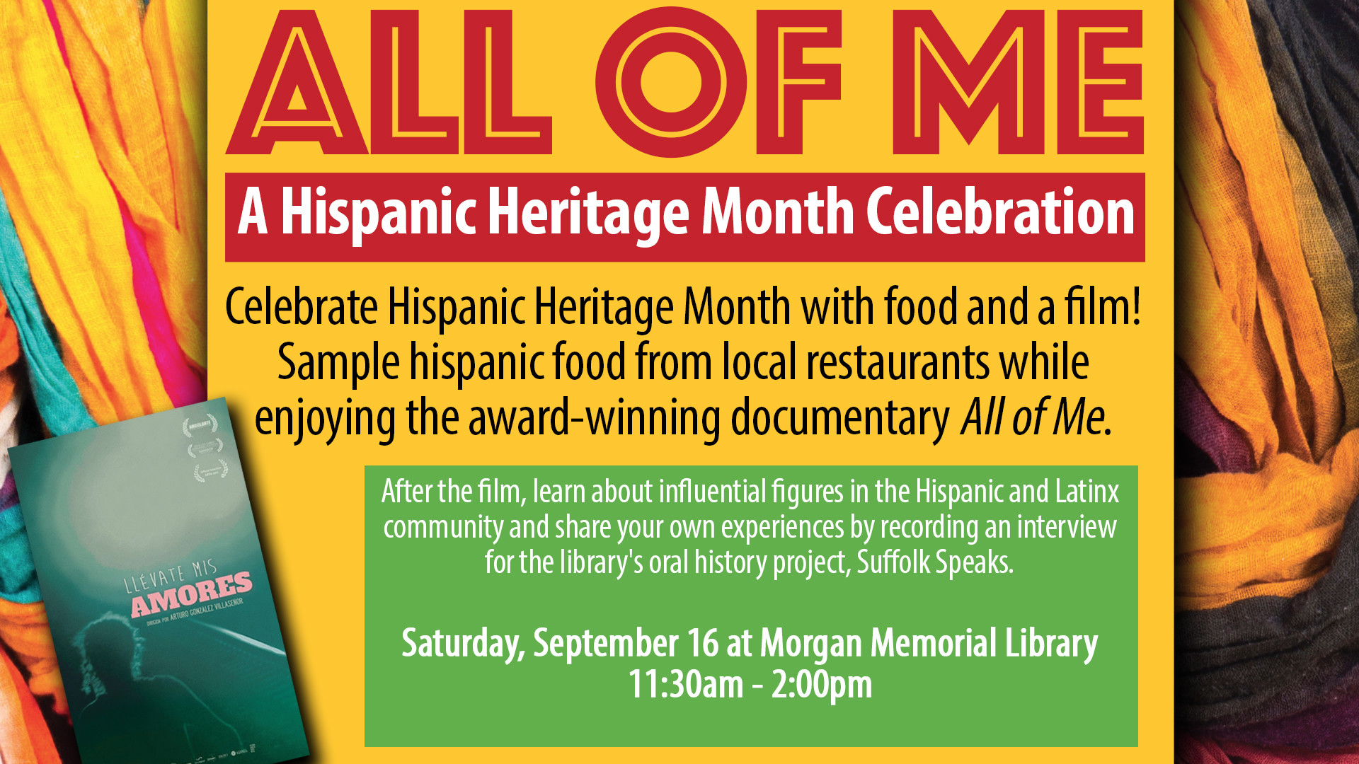 1920x1080 All of Me: A Hispanic Heritage Month Celebration - Virginia Is For Lovers