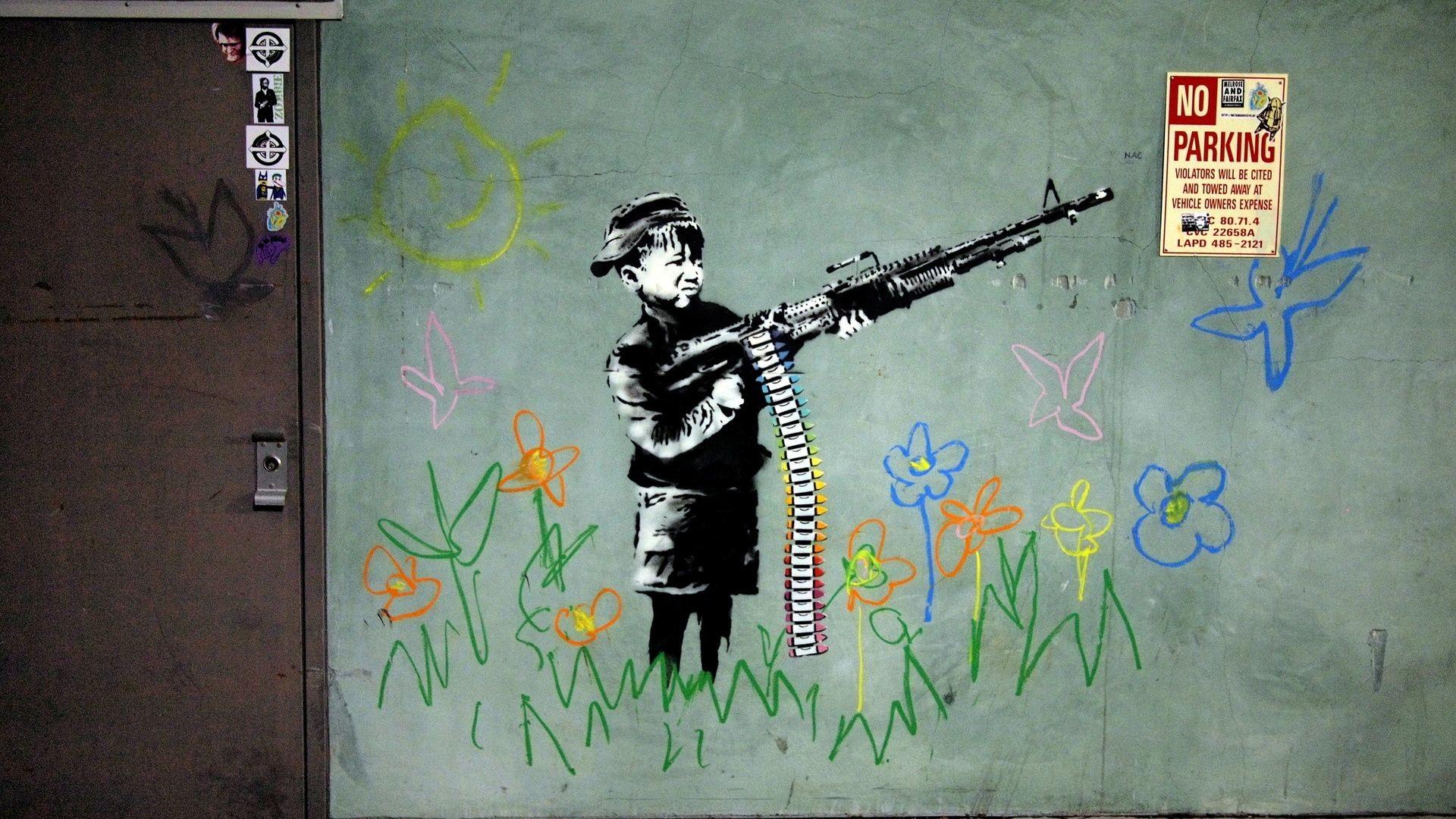 Banksy Wallpaper HD (77+ Images