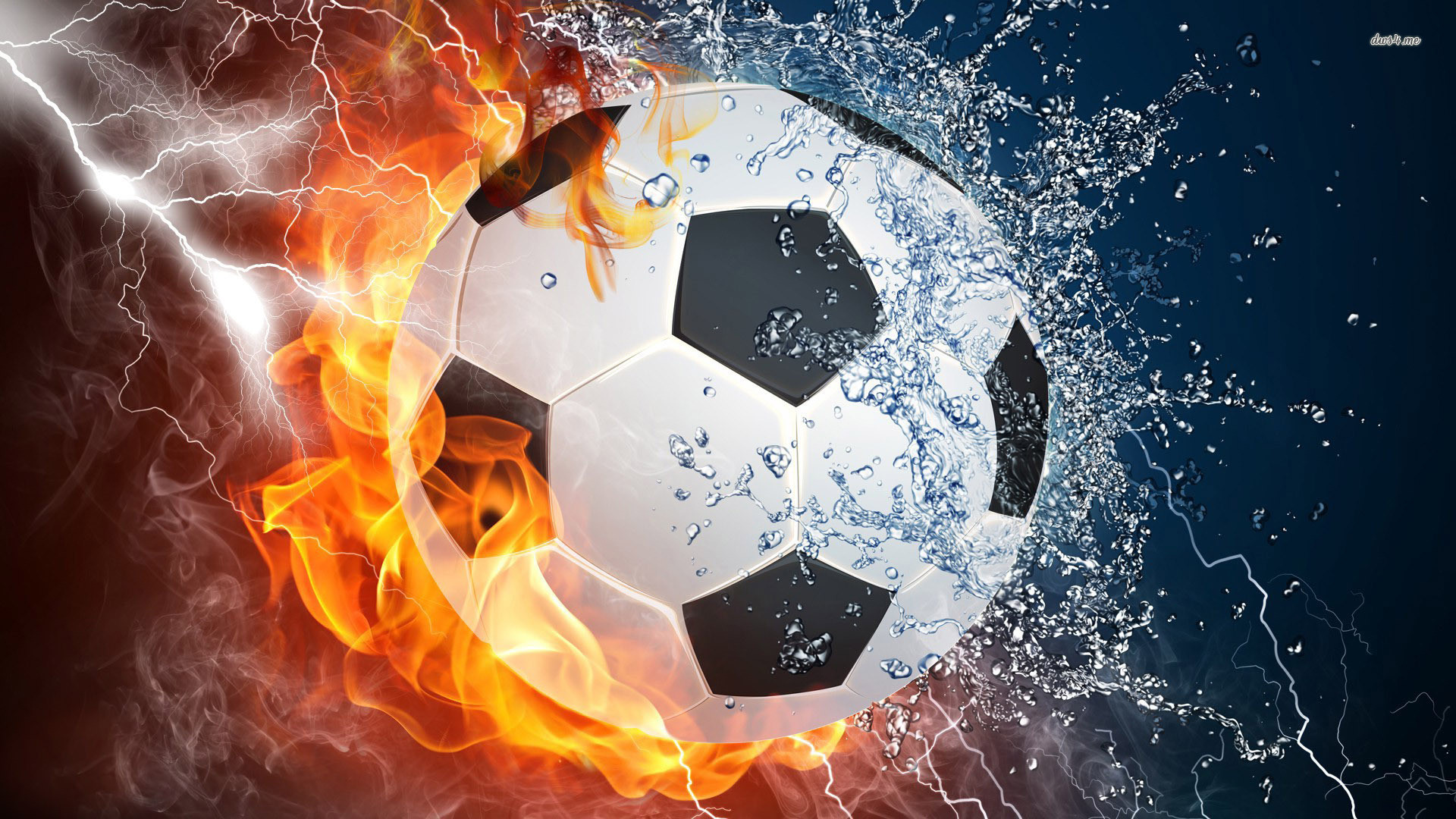 48 Cool Green Soccer Ball Wallpapers On Wallpapersafari: Flaming Soccer Ball Wallpaper (55+ Images
