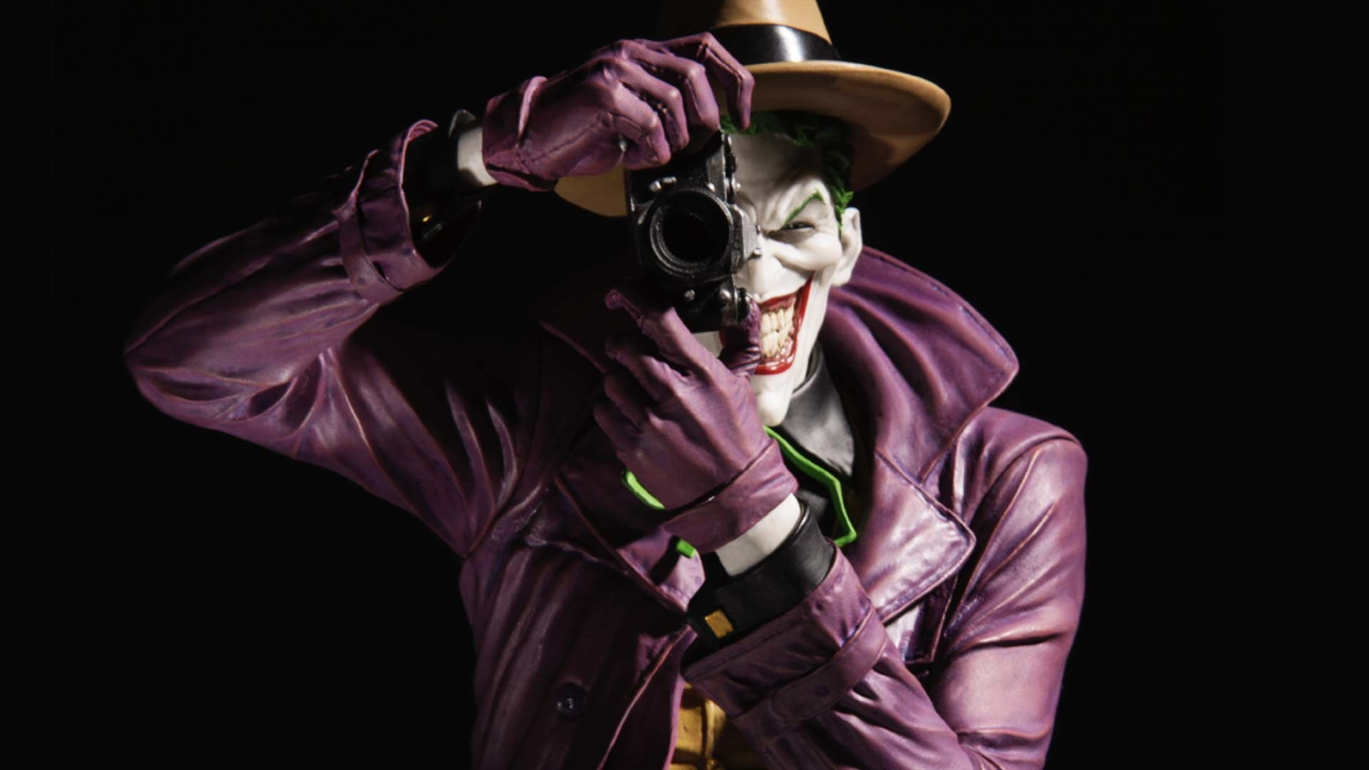 1920x1080 DC Collectibles - DC Designer Series: The Joker by Brian Bolland Statue | DC
