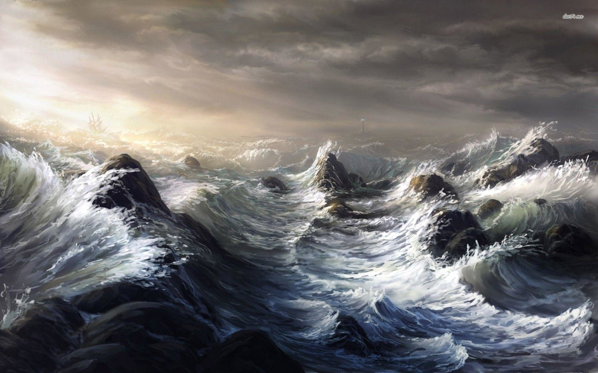 1920x1200 Ocean Storm Wallpapers - Full HD wallpaper search