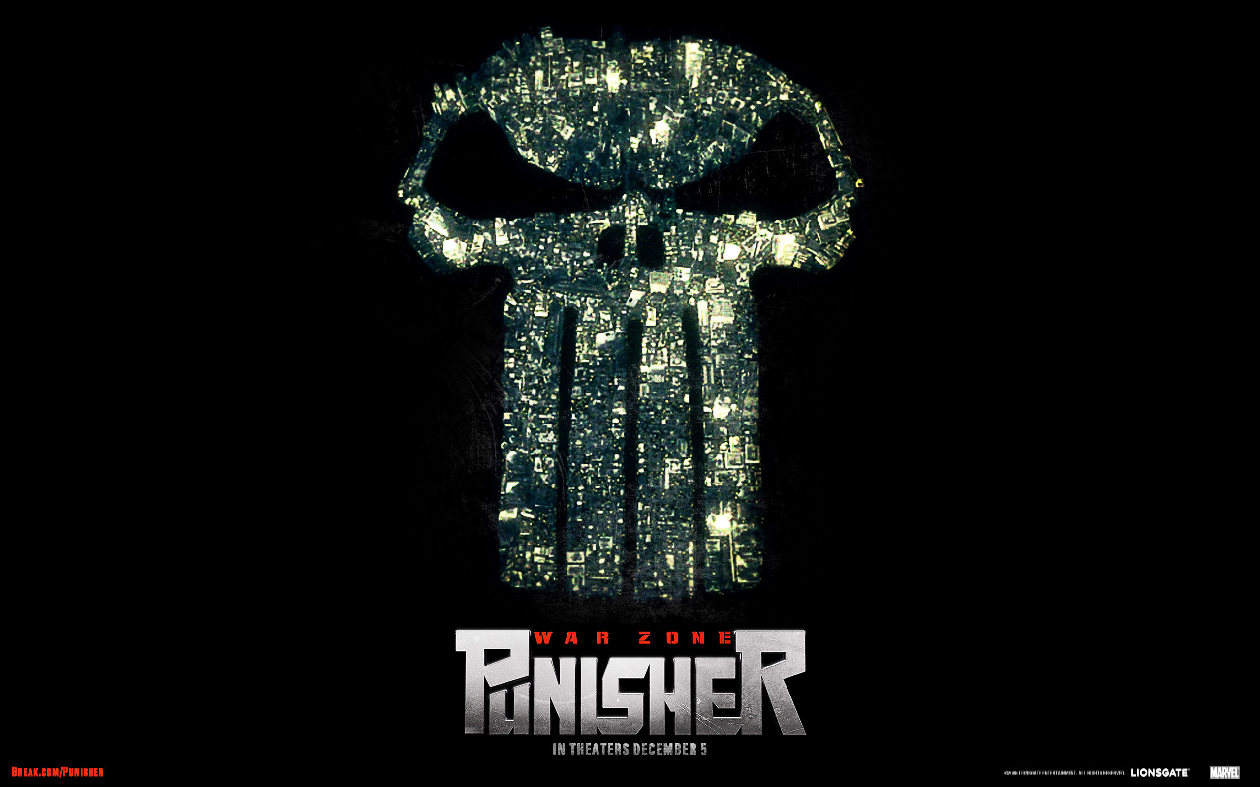 2560x1600 The Punisher wallpapers desktop