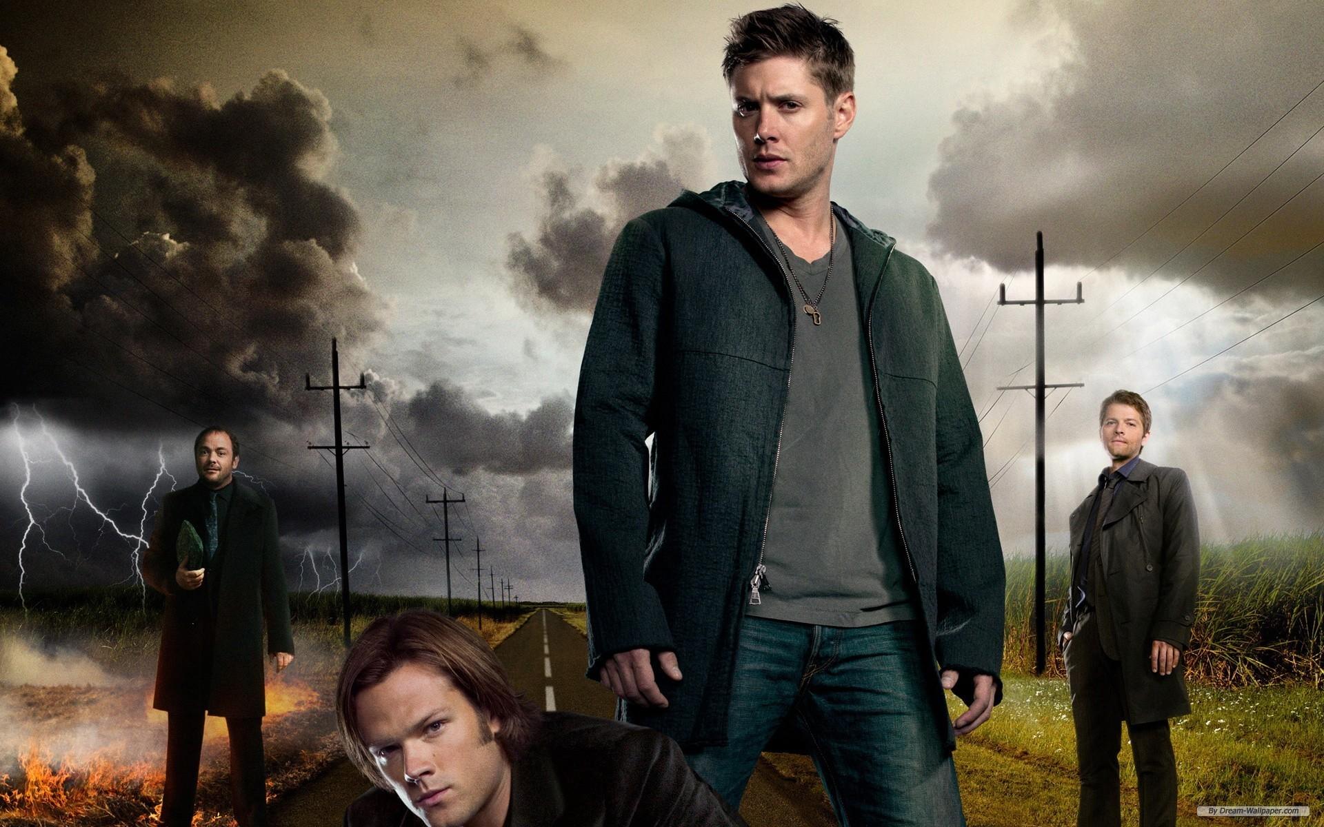 Supernatural Wallpaper Dean Sam Castiel 66 Images