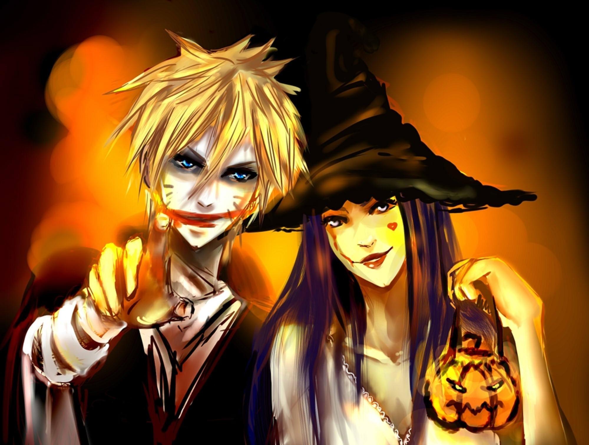 Anime Halloween Wallpaper (54+ images)