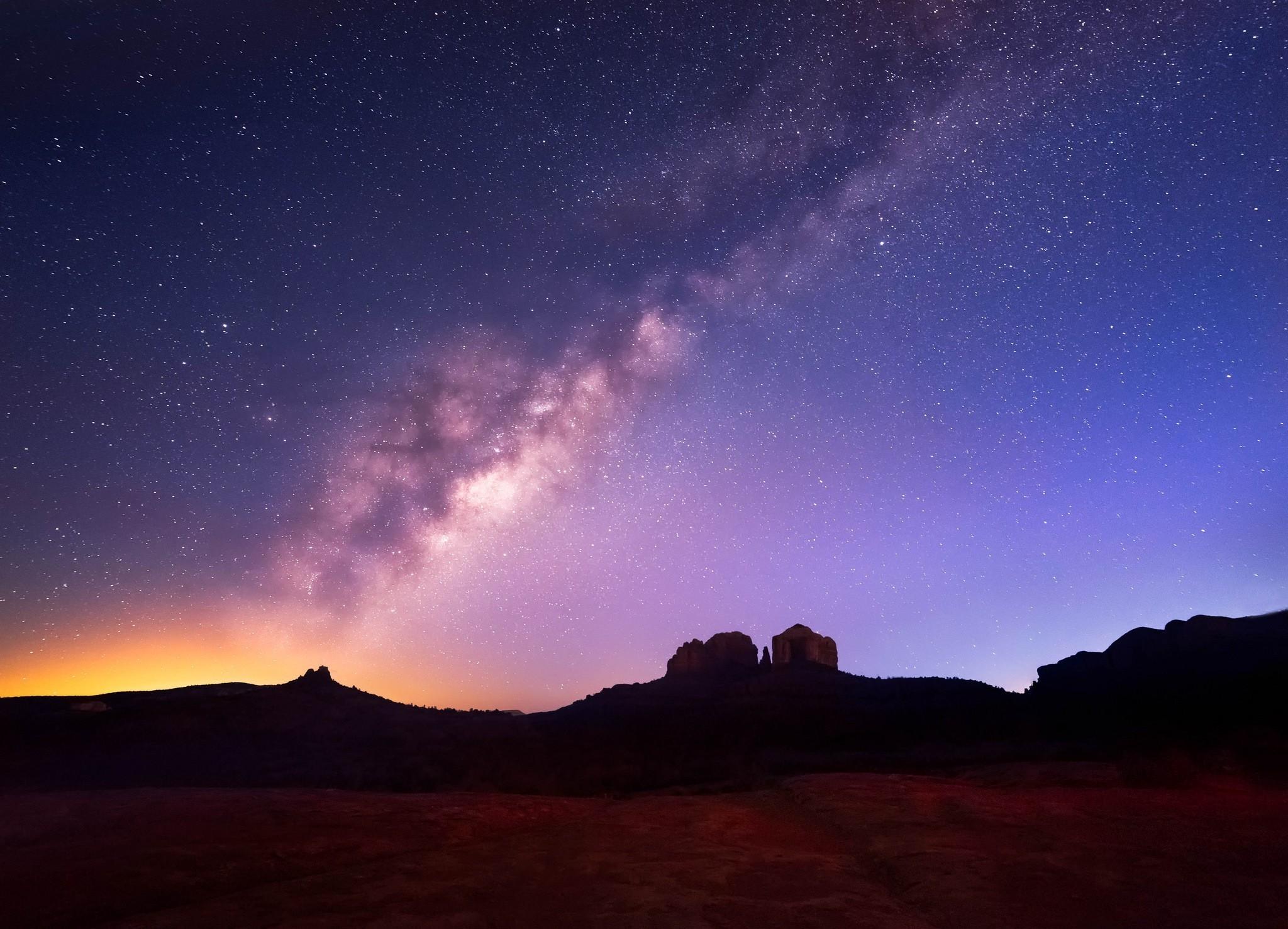 Space Universe Stars Milky Way Wallpapers Hd Desktop