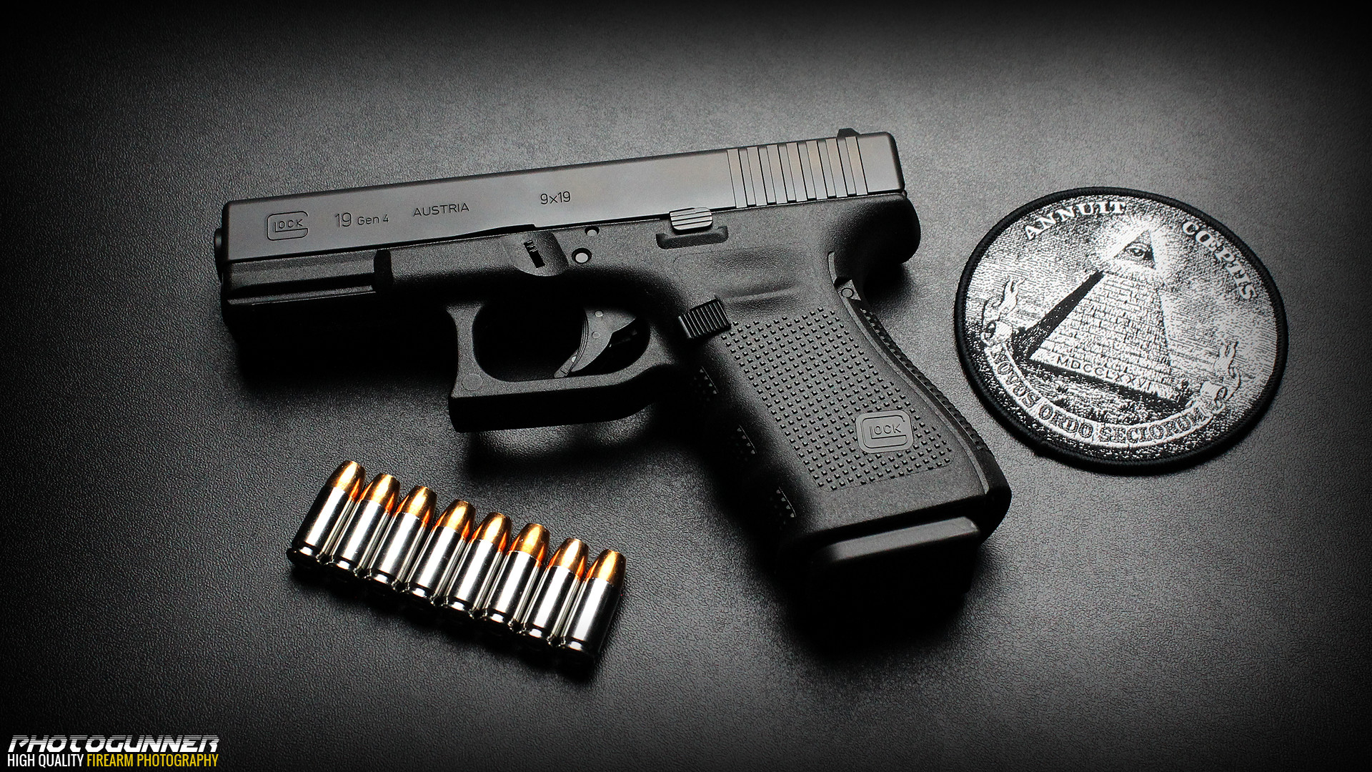 1920x1080 NMgnCP PC Gallery Glock Logo By Ok Cauble