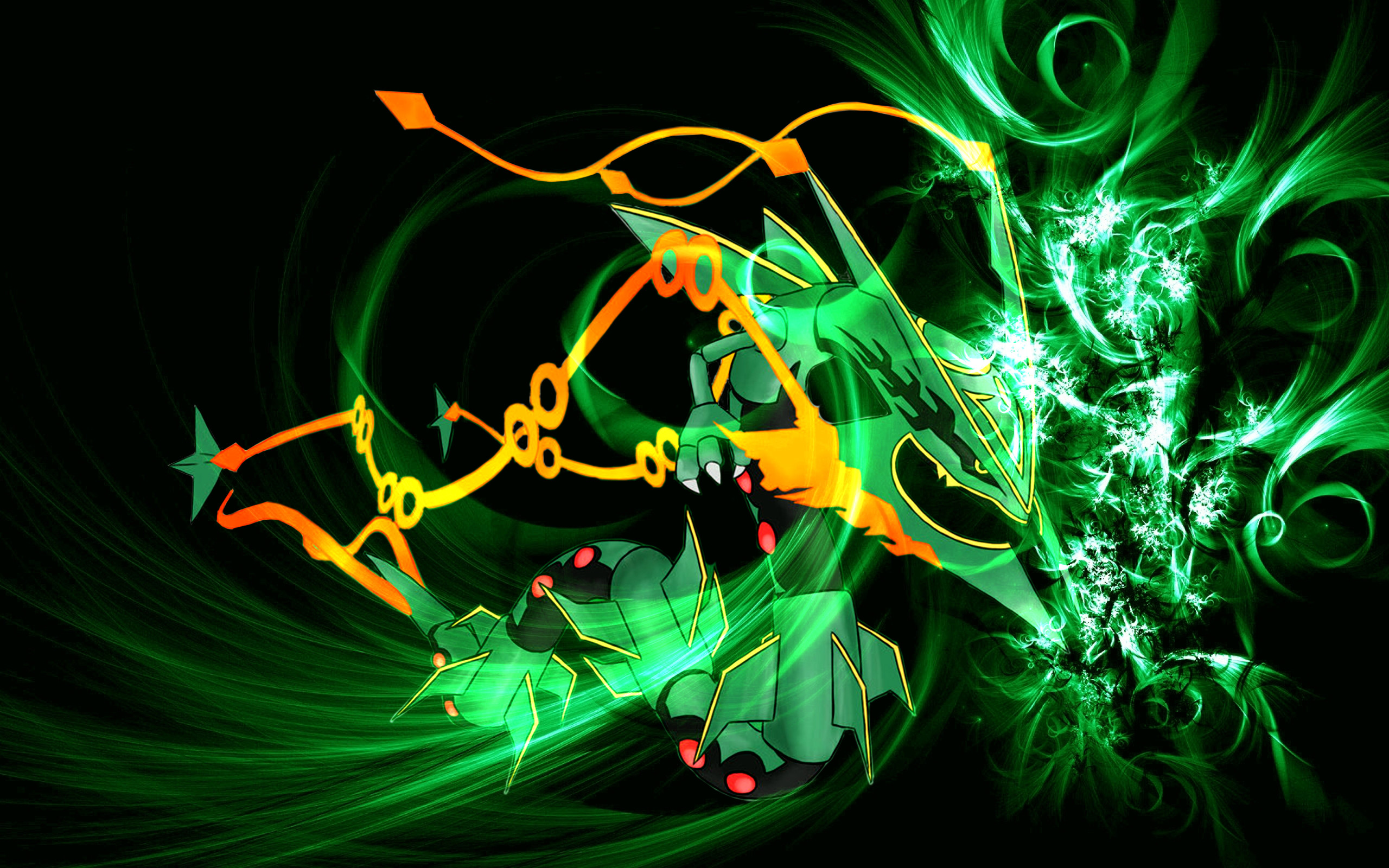 2560x1600 Mega Rayquaza Wallpaper HD Wallpapers on picsfair.com