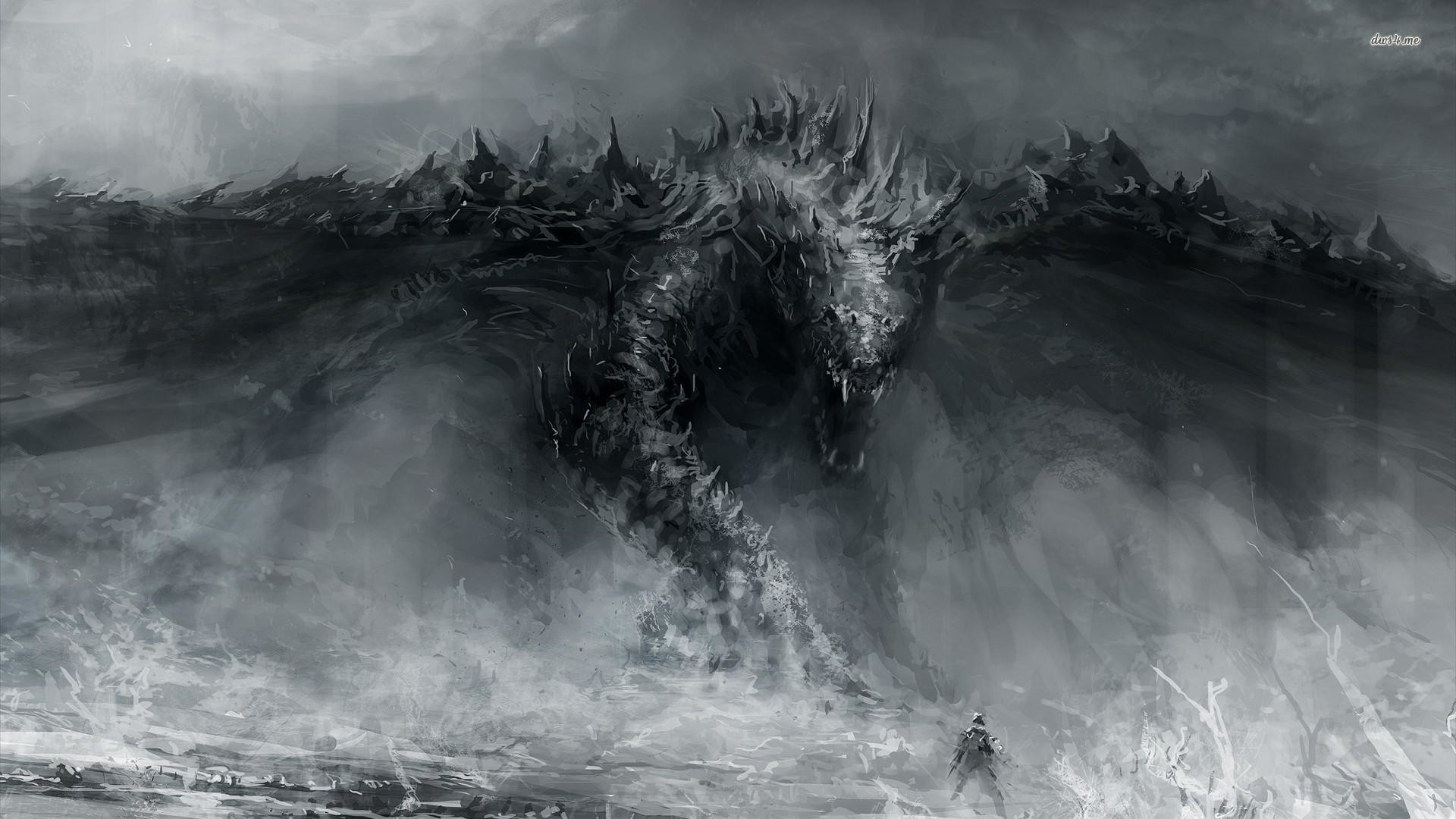 1920x1080 wallpaper.wiki-Ice-Dragon-Wallpaper-Free-Download-PIC-