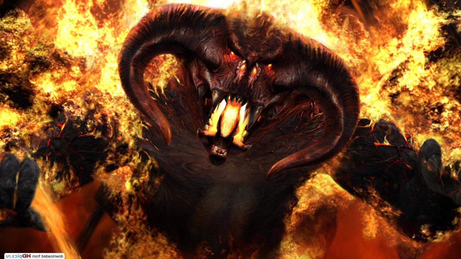 Lord Of The Rings Fire Demon Balrog