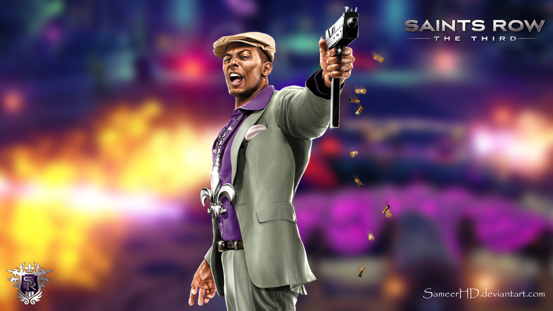 1920x1080 ... Saints Row III Pierce Washington Wallpaper by SameerHD