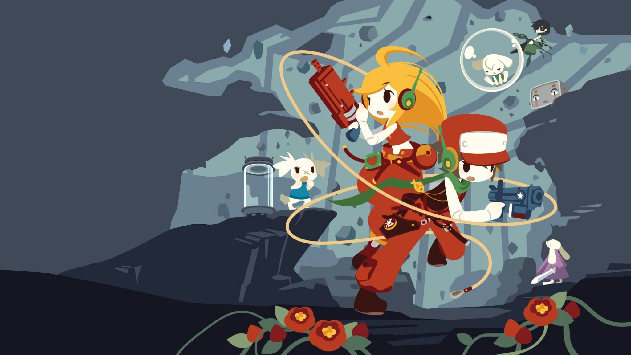 2048x1152 Cave Story HD Wallpapers