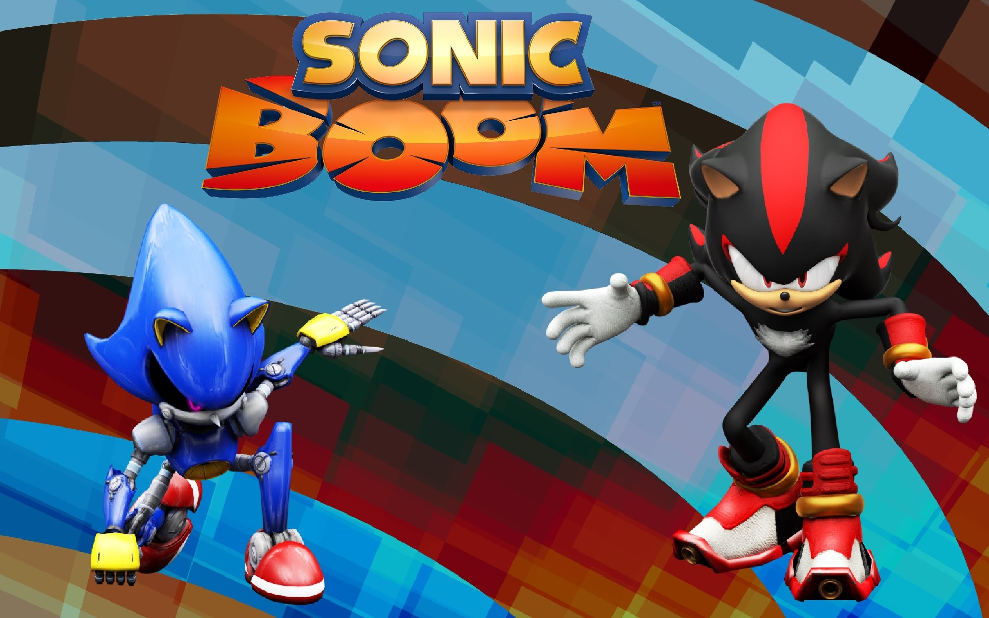 Sonic and shadow wallpaper 75 images - Shadow sonic boom ...