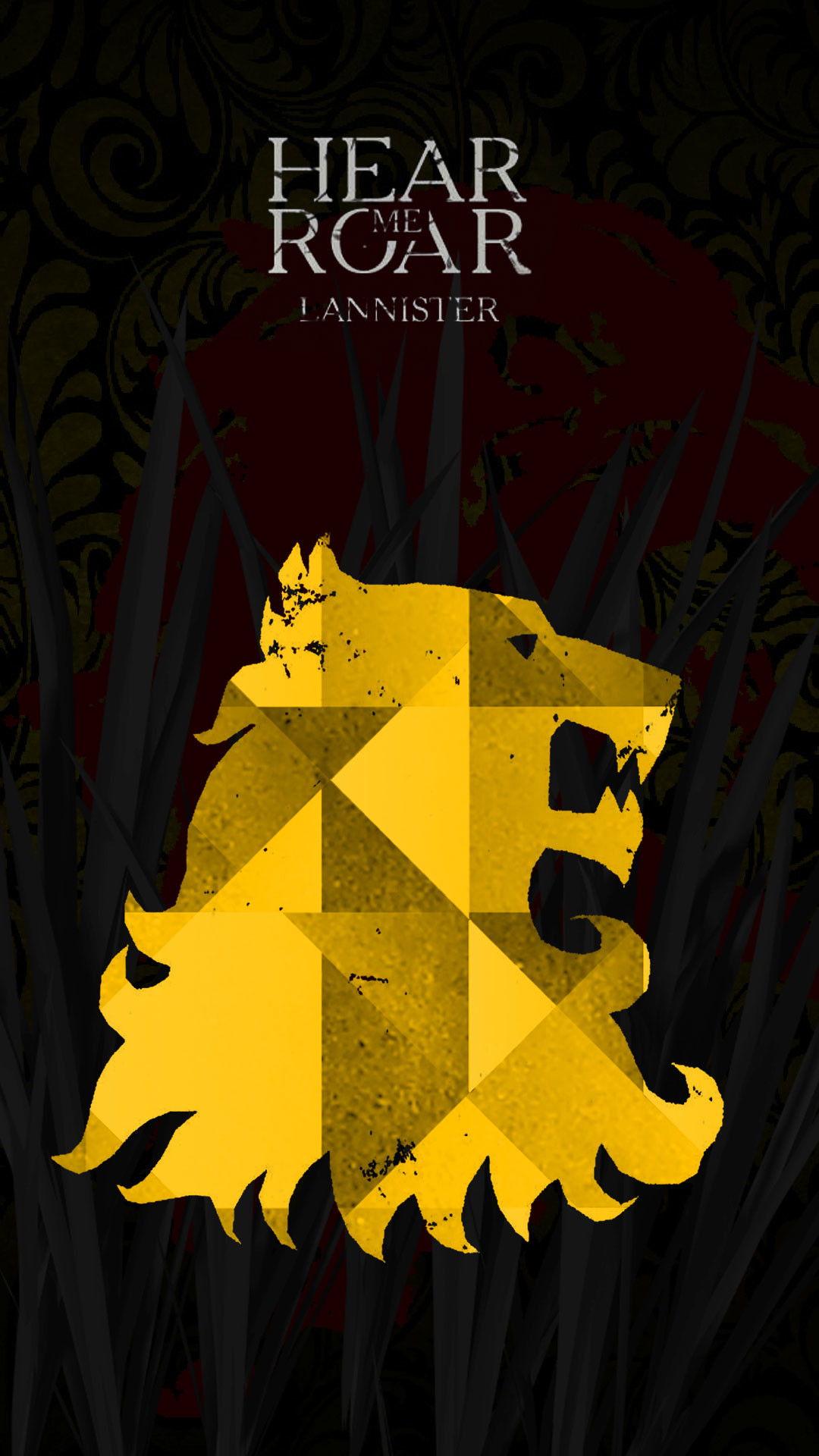 1080x1920 None[No Spoilers]I made a Lannister wallpaper for mobile. Hope you guys  like it.