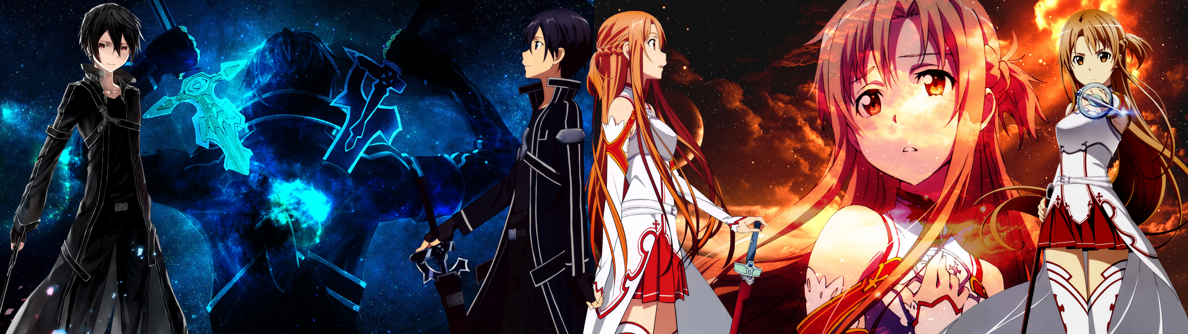 1920x1080 Sword Art Online Asuna Fighting