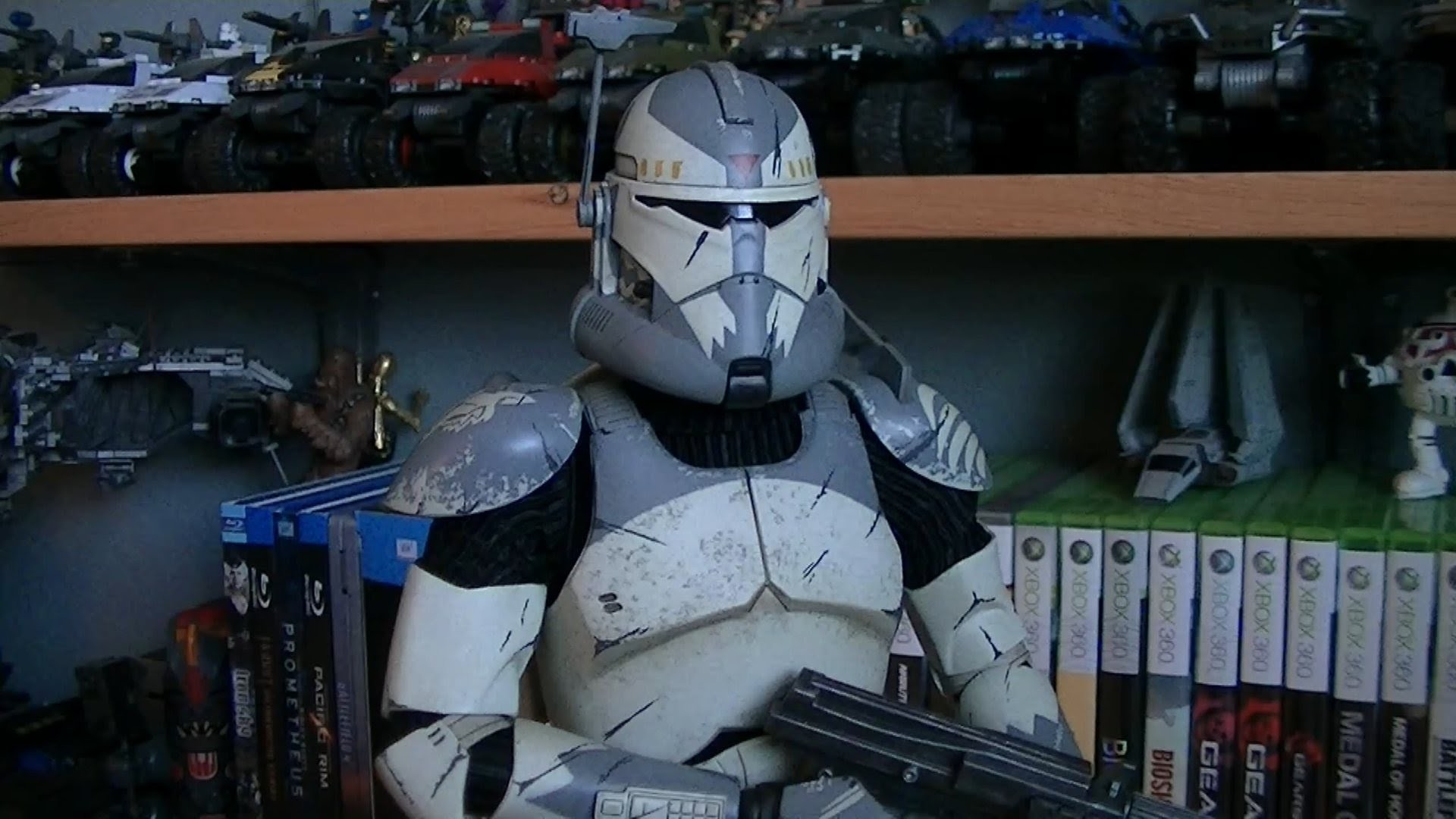 1920x1080 Sideshow Collectibles Clone Commander Wolffe (Militaries of Star Wars - 1:6  Scale Figure) Review - YouTube
