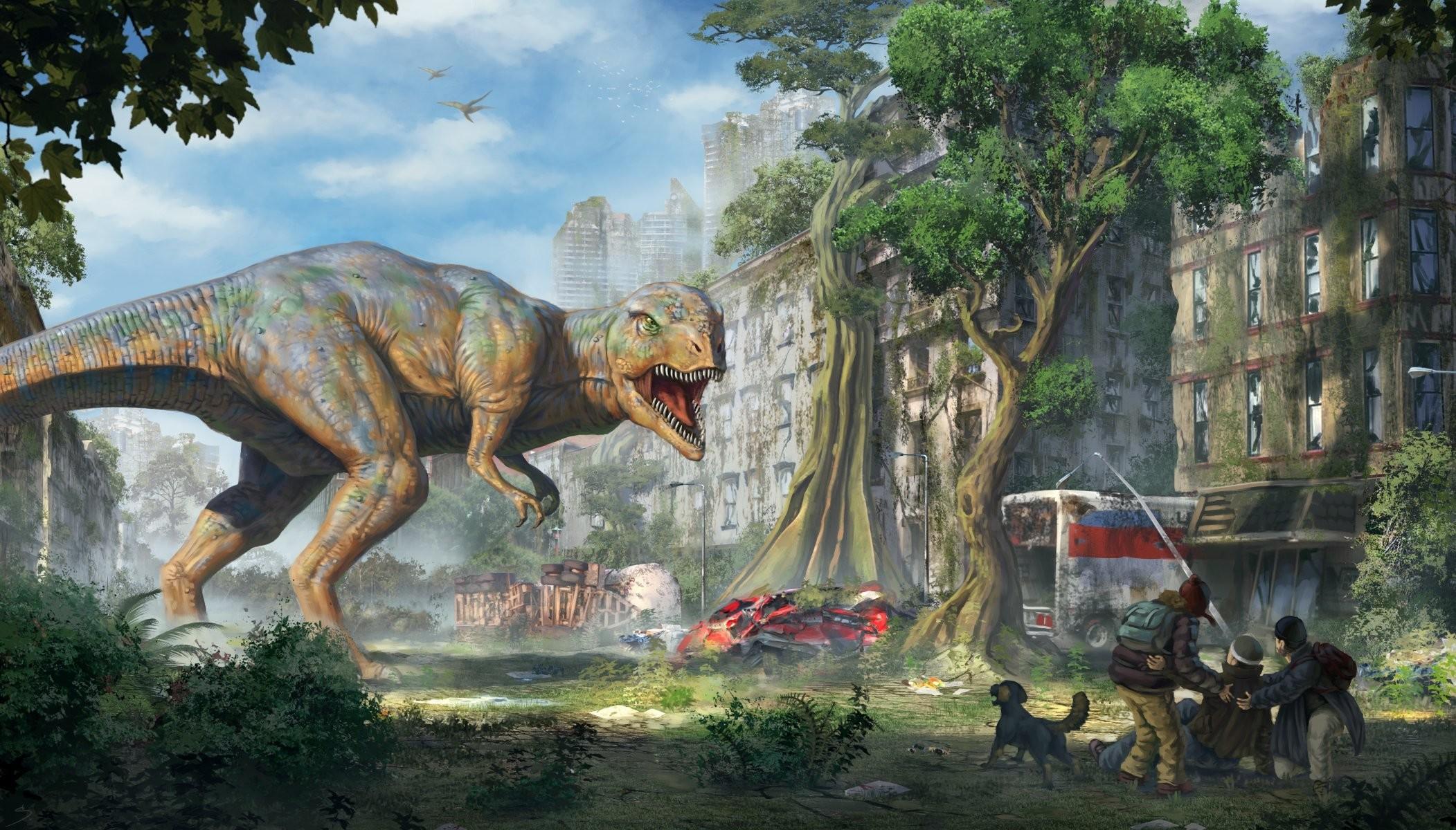 Cool T Rex Art
