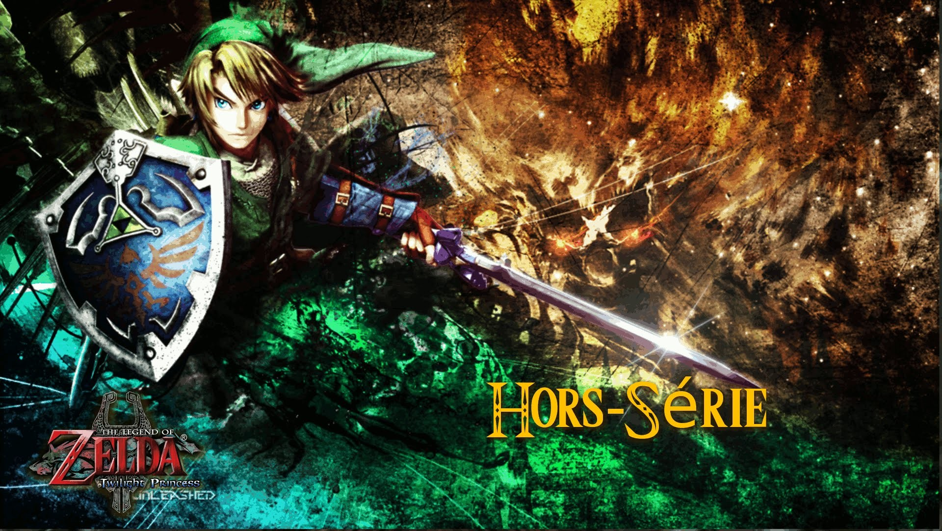 1920x1082 The Legend of Zelda Twilight Princess - Hors-Série : Loup dorée, Grand  carquois et Œil de faucon - YouTube