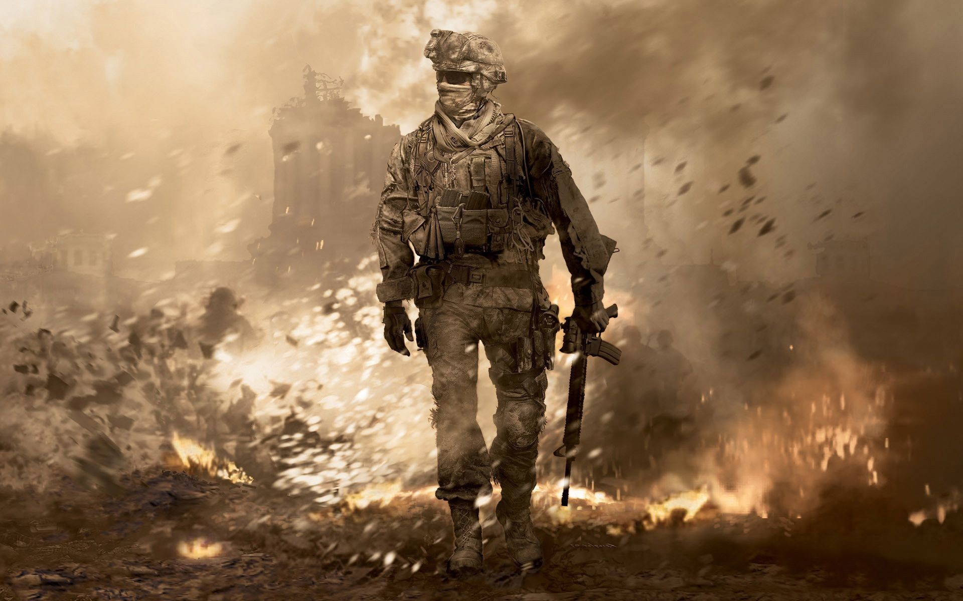 Mw2 Ghost Wallpaper (71+ images)
