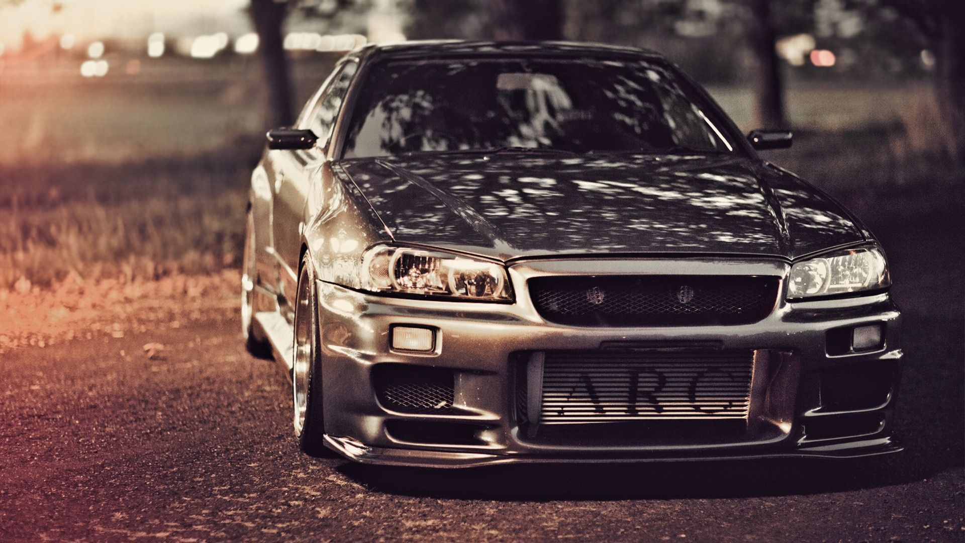 1920x1080 Wallpapers nissan skyline, gt-r, r34, nissan, tuning, road,