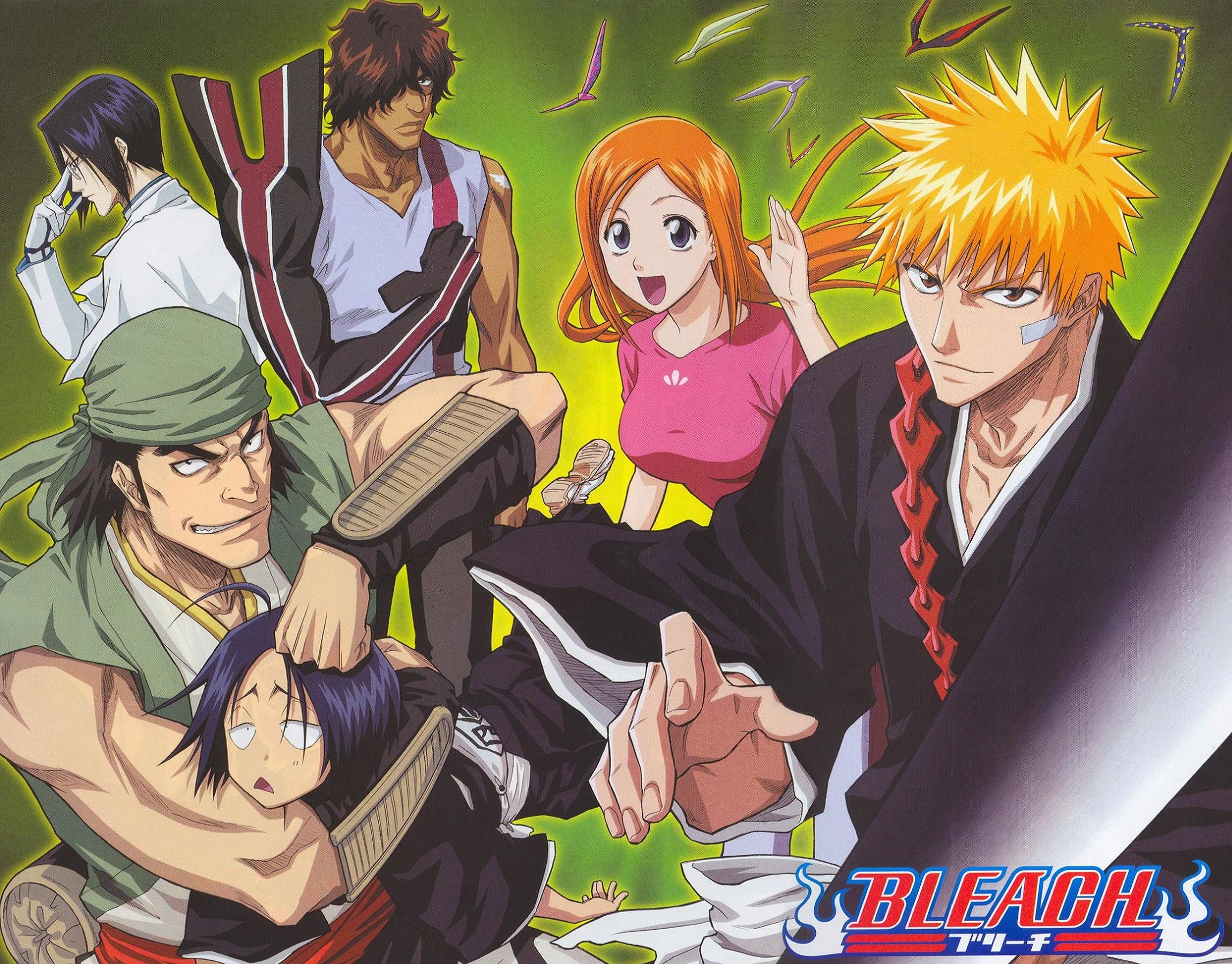 2300x1800 Bleach anime wallpapers group wallpapers bleach poster 02